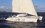photo of crewed charter sailing yacht soterion